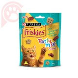 FRISKIES PARTY MIX PETISCOS CAMARÃO, SALMÃO E ATUM 40G