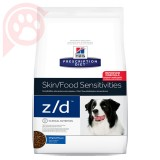 HILLS PRESCRIPTION DIET CANINE Z/D 3,6KG