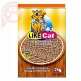 LIKE CAT GRANULADO DE MADEIRA 2KG