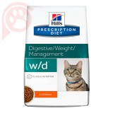 HILLS PRESCRIPTION DIET FELINE W/D 1,81KG
