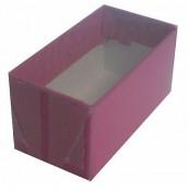 Caixa tampa transparente  TT01 8X4X4