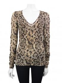 Blusa Dolce & Gabbana Tecido Animal Print 36