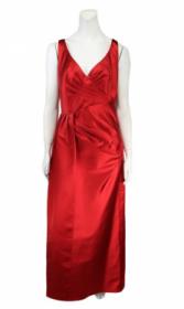 Vestido REINALDO LOURENÇO 44 tafetá vermelho