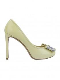 Sapato Louis Vuitton Valentine Creme 34,5