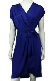 Vestido Diane von Furstenberg 40  Azul