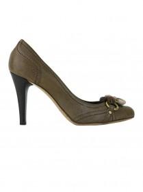 Sapato Valentino Flor Marrom 35.5