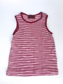Blusa Missoni Knit Listrado Vermelho Infantil 2 meses