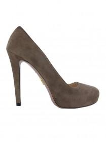 Sapato Prada Camurça Capuccino 34