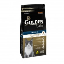 Golden Gatos Castrados Sênior 1kg