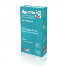 Agemoxi CL 50mg c/ 10 Comp.