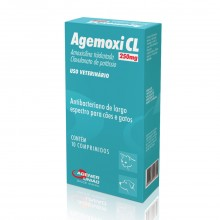 Agemoxi CL 250mg c/ 10 Comp.