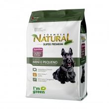 Fórmula Natural Cães Sensitive Mini 7kg