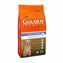 Golden Cães Carne Filhotes 15kg