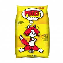 Mitzi Granulado Hig. P/ Gatos 4kg