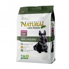 Fórmula Natural Cães Sensitive Mini 1kg