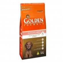 Golden Cães Frango Filhotes MB 3kg