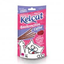 Kelcat Bastoncitos Carne 30g