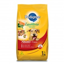 Pedigree Equilíbrio Natural 7+  1kg