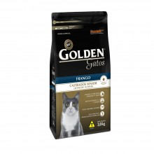 Golden Gatos Castrados Sênior 3kg