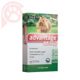 ANTIPULGAS E CARRAPATOS ADVANTAGE MAX3 CÃES P