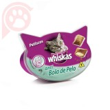 WHISKAS TEMPTATIONS ANTI BOLA DE PELO 40G