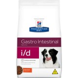 RAÇÃO HILLS PRESCRIPTION DIET CÃO I/D INTESTINAL I/D 2 KG