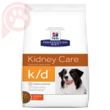RAÇÃO HILLS PRESCRIPTION DIET CANINE RENAL K/D 3,8KG