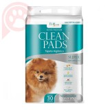 TAPETES HIGIÊNICOS CLEAN PADS 30 UNIDADES