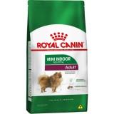 RAÇÃO ROYAL CANIN CANINE MINI INDOOR ADULT