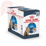 CAIXA 12 SACHÊS ROYAL CANIN FELINE ULTRA LIGHT 85G