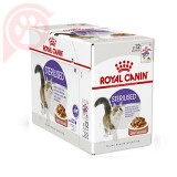 CAIXA 12 SACHÊS ROYAL CANIN FELINE STERILISED 85G