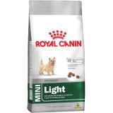 RAÇÃO ROYAL CANIN CÃES MINI LIGHT
