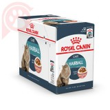 CAIXA 12 SACHÊ ROYAL CANIN FELINE HAIRBALL CARE 85G