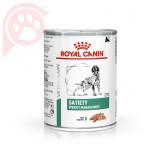 RAÇÃO ÚMIDA ROYAL CANIN CANINE SATIETY WEIGHT MANAGEMENT LATA 410G