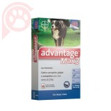 ANTIPULGAS E CARRAPATOS ADVANTAGE MAX3 CÃES GG