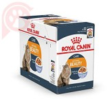 CAIXA 12 SACHÊS ROYAL CANIN FELINE INTENSE BEAUTY 85G
