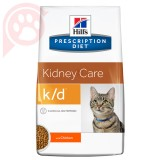 RAÇÃO HILLS PRESCRIPTION DIET FELINE RENAL K/D 1,81KG