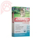 ANTIPULGAS E CARRAPATOS ADVANTAGE MAX3 CÃES M 4 A 10KG