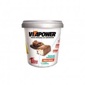VITAPOWER PASTA DE AMENDOIM PRESTÍGIO (PRESS CREAM) - (1,005KG) - MRS TASTE