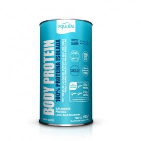 Equaliv Body Protein 100% Isolada Sabor Neutro 450g