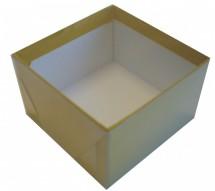 Caixa Retangular tampa transparente (acetato) / TT03 - 12X12X7