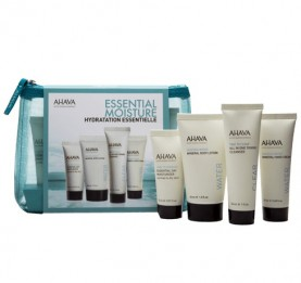 Kit Skin Solution Essencial Moisture  (Day Moist 15 ml, Cleanser 30ml, Body Lotion 40 ml e Hand Cream 40 ml)