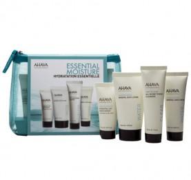 Kit Skin Solution Essencial Moisture  (Day Moist 15 ml, Cleanser 30ml, Body Lotion 40 ml e Hand Cream 40 ml)